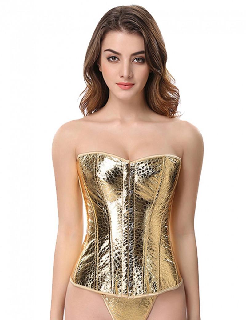 Corset Gold Print
