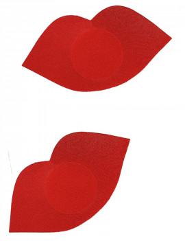 Pezonera labios rojos