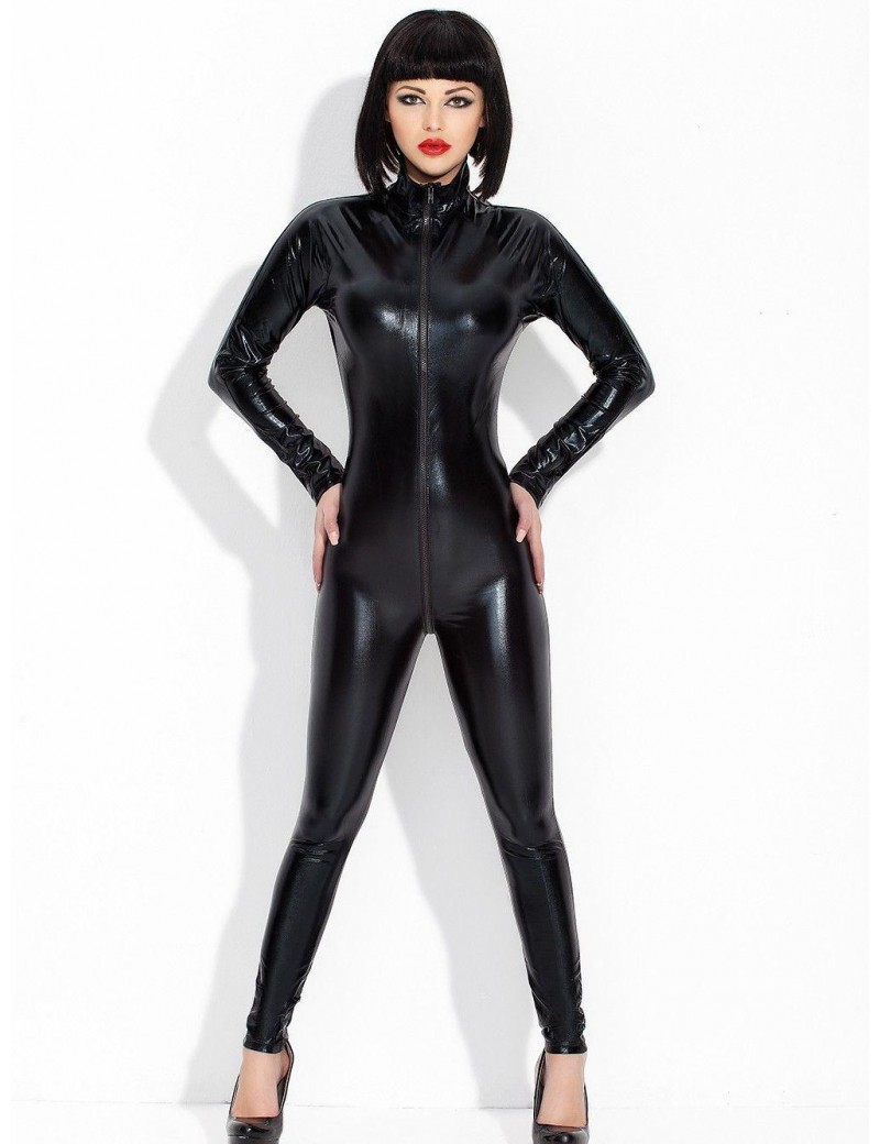 Catsuit wet look personalizado