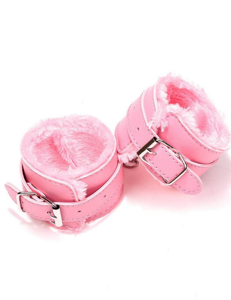 Esposas rosadas muñequeras...