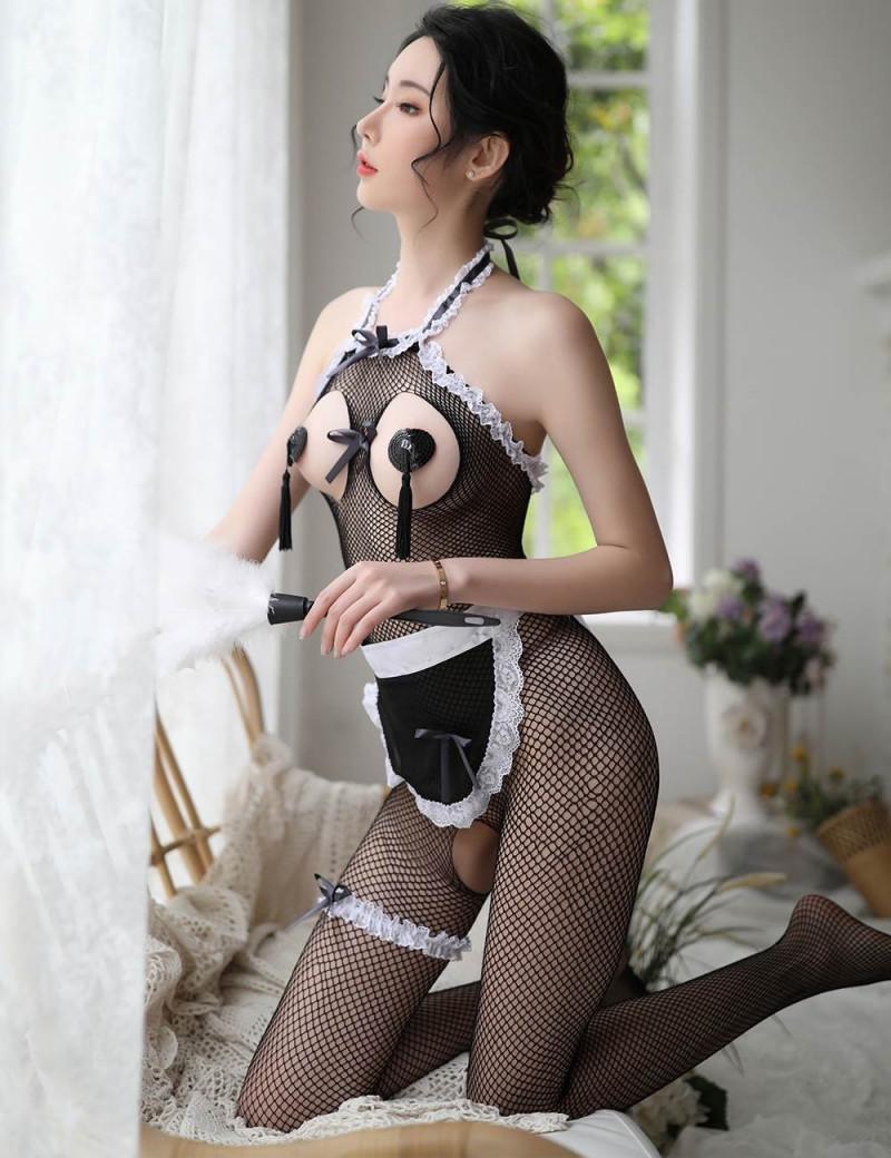 Cute uniform Maid: 3 piezas
